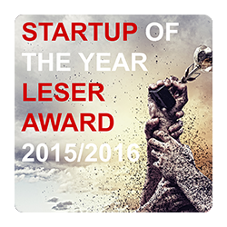 STARTUP OF THE YEAR AWARD 2015/2016